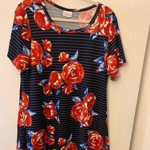 NWOT LuLaRoe Jessie Dress, Americana 2019